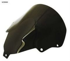 Ветровое стекло для мотоцикла Honda CBR125 04-06  DoubleBubble Черное