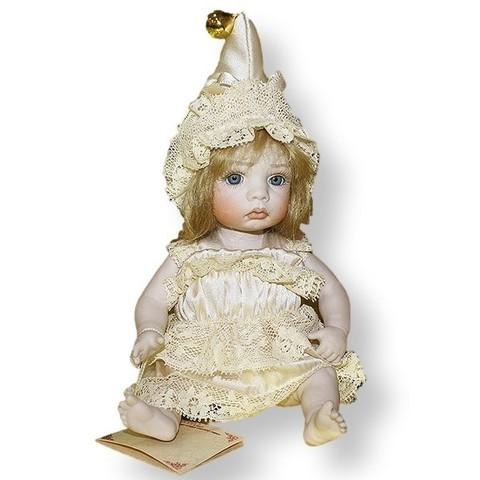 Кукла фарфоровая коллекционная Marigio Chiara 18 см