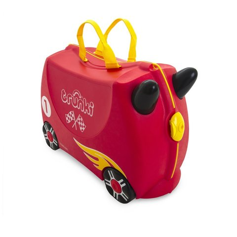 Детский чемодан Trunki Гоночная машина Рокко