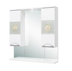 Шкаф-зеркало Onika Флорена 78.01 белое