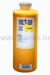 Латексные чернила STS для HP 2550/26500/28500/210/260/280/310/330/360 Yellow 1000 мл