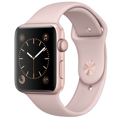 Apple Watch 2 Sport 42mm Rose Gold Pink Sand
