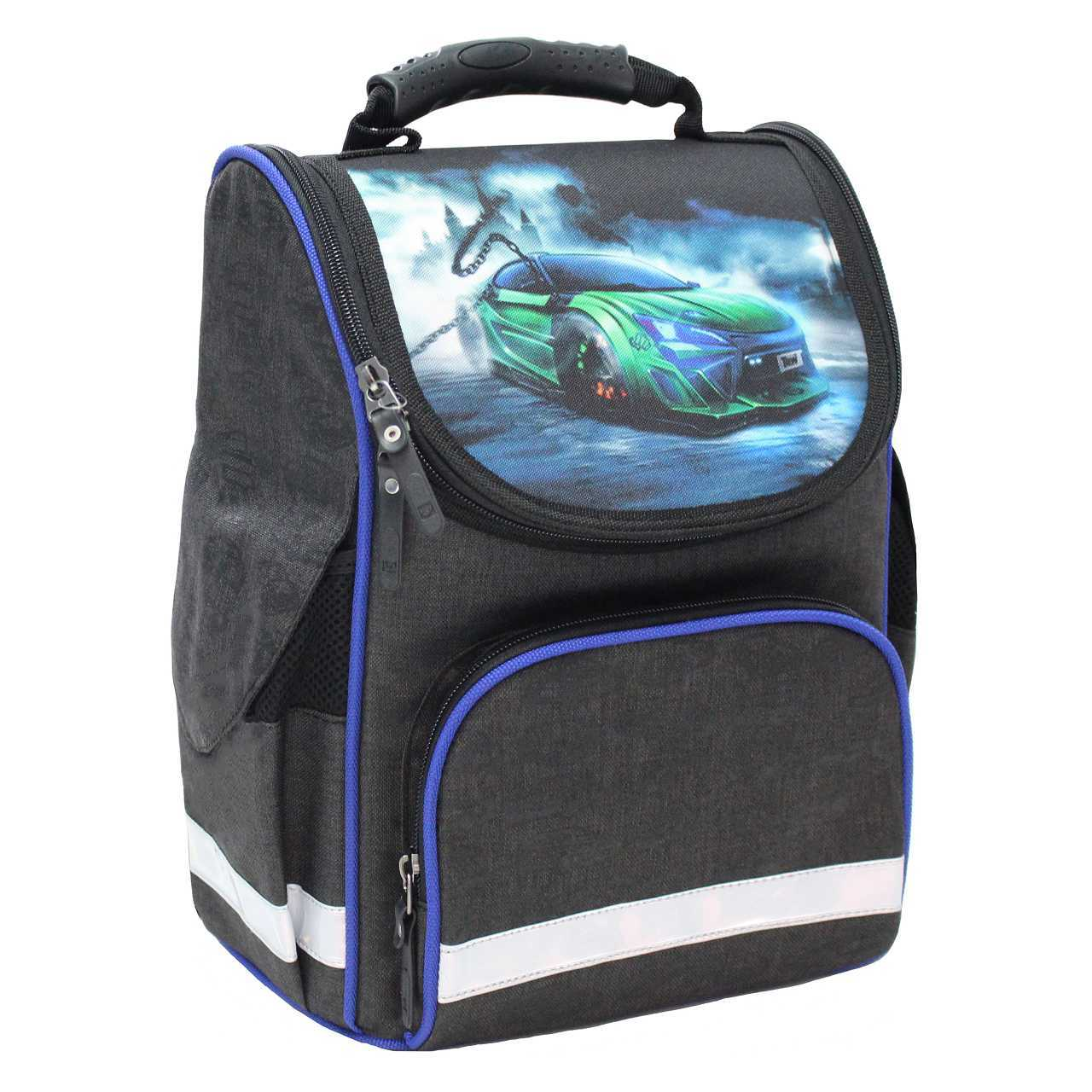 Школьные рюкзаки Рюкзак школьный каркасный Bagland Успех 12 л. чорний 3 м (00551692) IMG_4703.jpg
