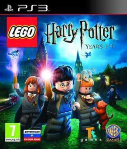 Sony PS3 LEGO Harry Potter: Years 1- 4 (английская версия)