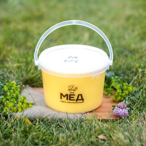 Мёд цветочный (Ивановка) 3 литра 2018 года
