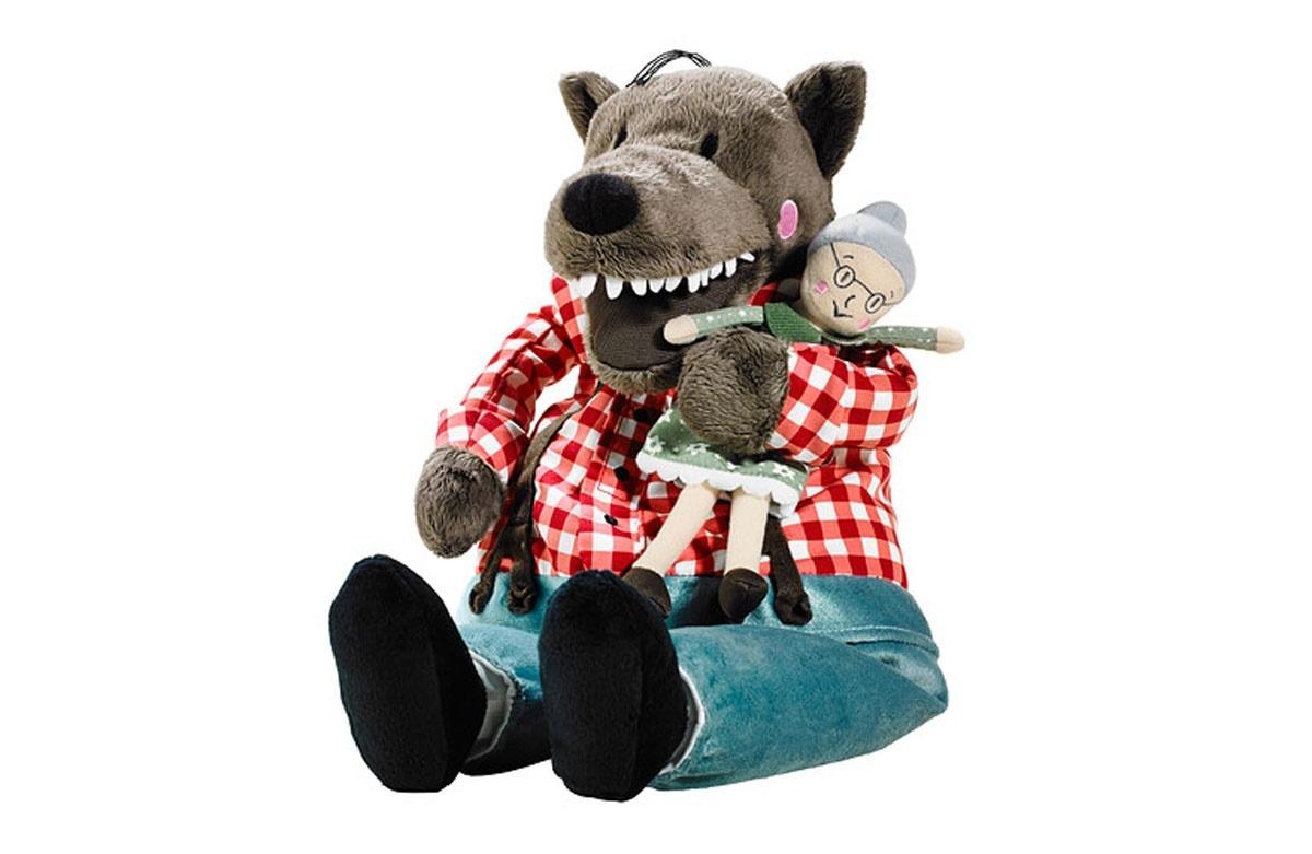 Красная Шапочка мягкая игрушка Волк и Бабушка