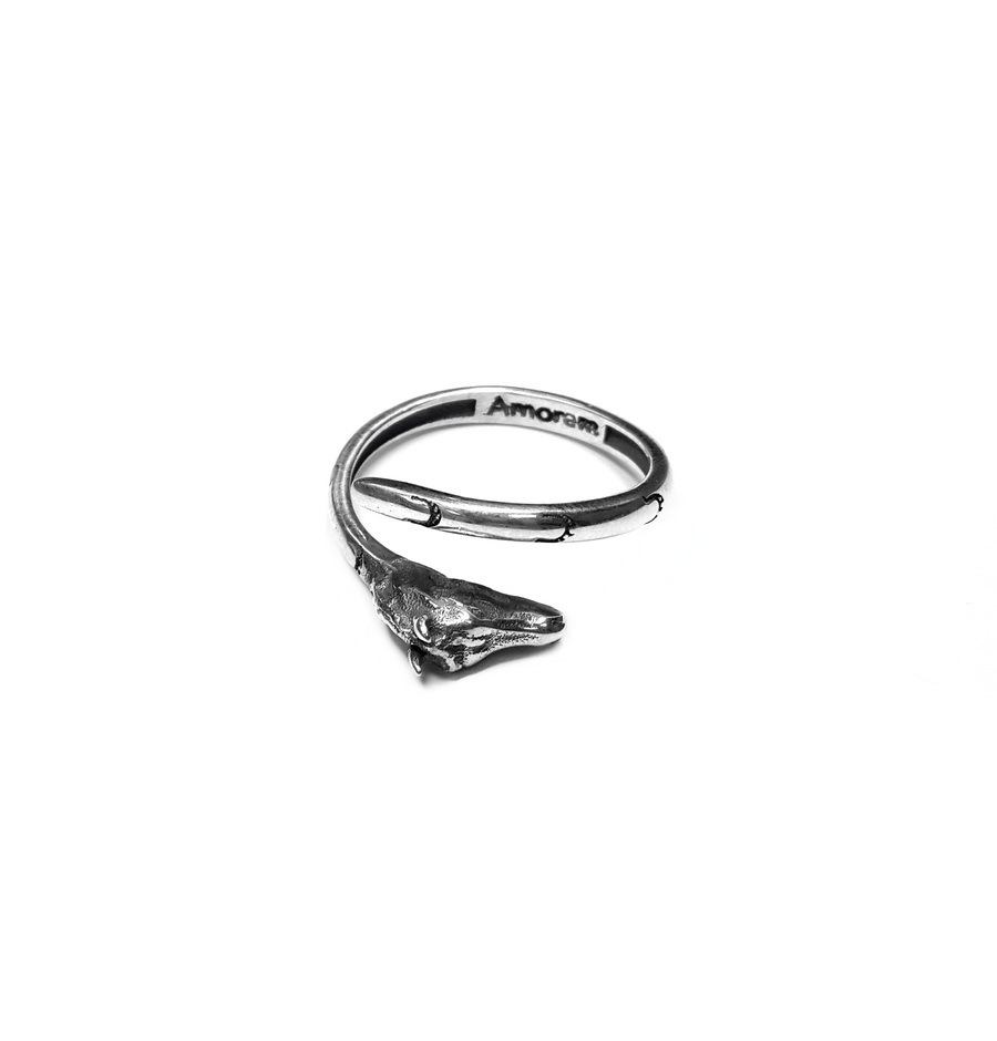 Horse Totem Ring, Sterling Silver