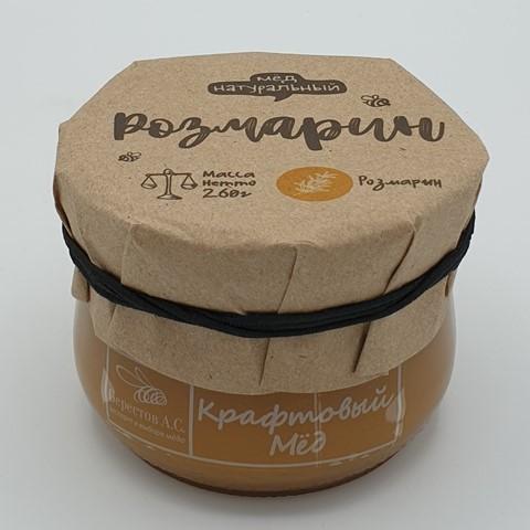 Мёд натуральный крафтовый Розмарин БЕРЕСТОВ А.С., 260 гр