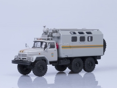 ZIL-131 kung MChS EMERCOM mobile workshop 1:43 AutoHistory
