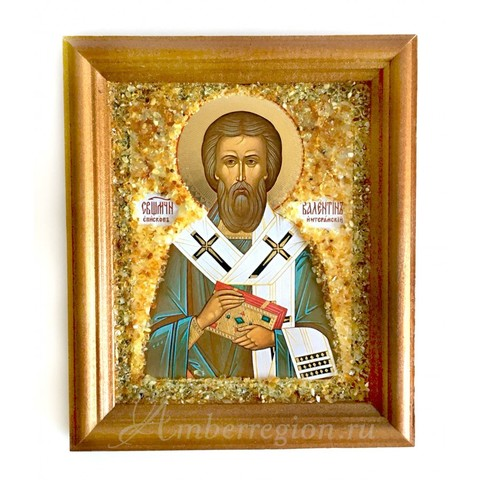 Икона Святого Валентина Интерамского