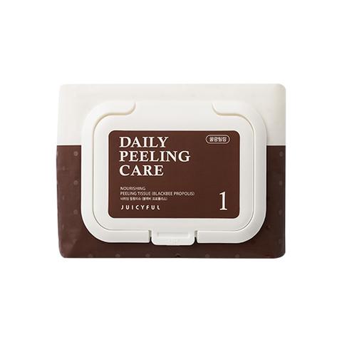Пилинг Салфетки Juicyful Nourishing Peeling Tissue Blackbee #Пчелиный прополис