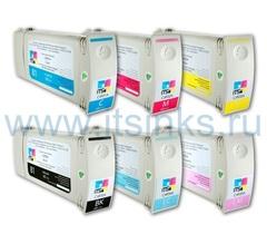 Комплект из 6 картриджей для HP Designjet 7100/7200