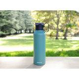Стальная бутылка Hydrate с петелькой 600 мл, артикул 565, производитель - Sistema, фото 15