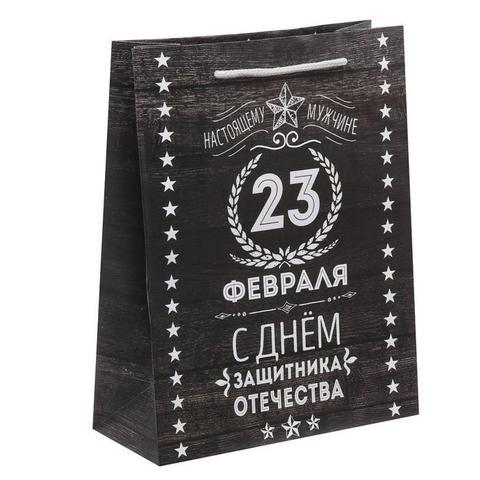 Пакет «Защитнику» 23×27×8см