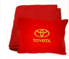 Плед в чехле с логотипом Toyota