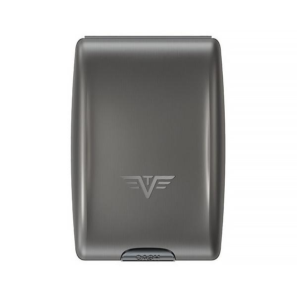 Кошелек c защитой Tru Virtu OYSTER, цвет темно-серый , 102*70*27 мм