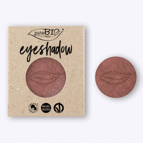 Тени для глаз PuroBio Тон 15 хамелеон: розовый/темно-серый 2,5 гр РЕФИЛЛ