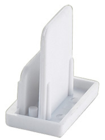 UFB-Q121 C21 WHITE 1 POLYBAG Заглушка торцевая для шинопровода. Цвет — белый. Упаковка — полиэтиленовый пакет.