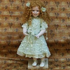 Кукла фарфоровая коллекционная Marigio Екатерина