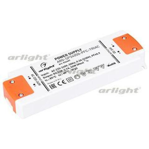 Блок питания ARV-SP24050-PFC-TRIAC (24V, 2.1A, 50W)