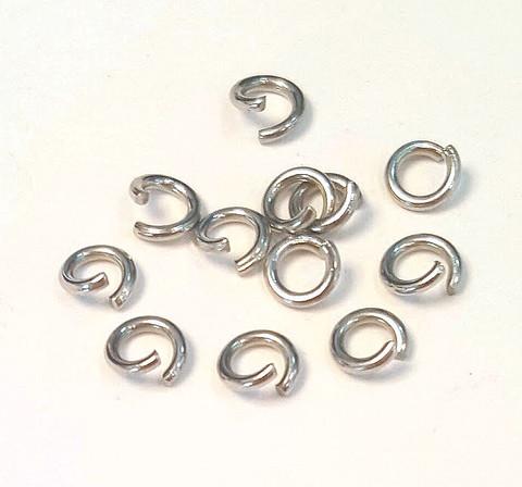 Кольцо особо прочное 5 мм нерж,сталь цена за 25 шт