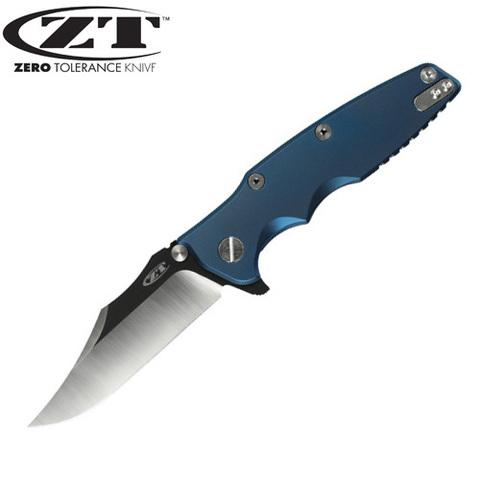 Нож Zero Tolerance модель 0392BLUBOWIE Рик Хиндерер Limited Edit