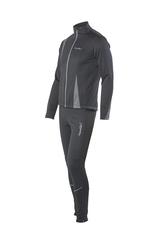 Мужской разминочный лыжный костюм Nordski Active NSM321100 серый