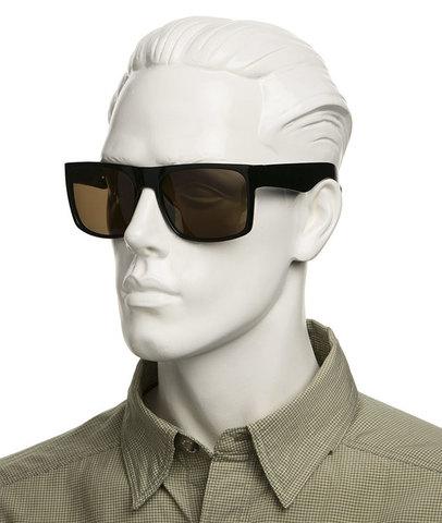 Пласиковые очки для супернакомарника и не только. Артикул А03 - светло-коричневые