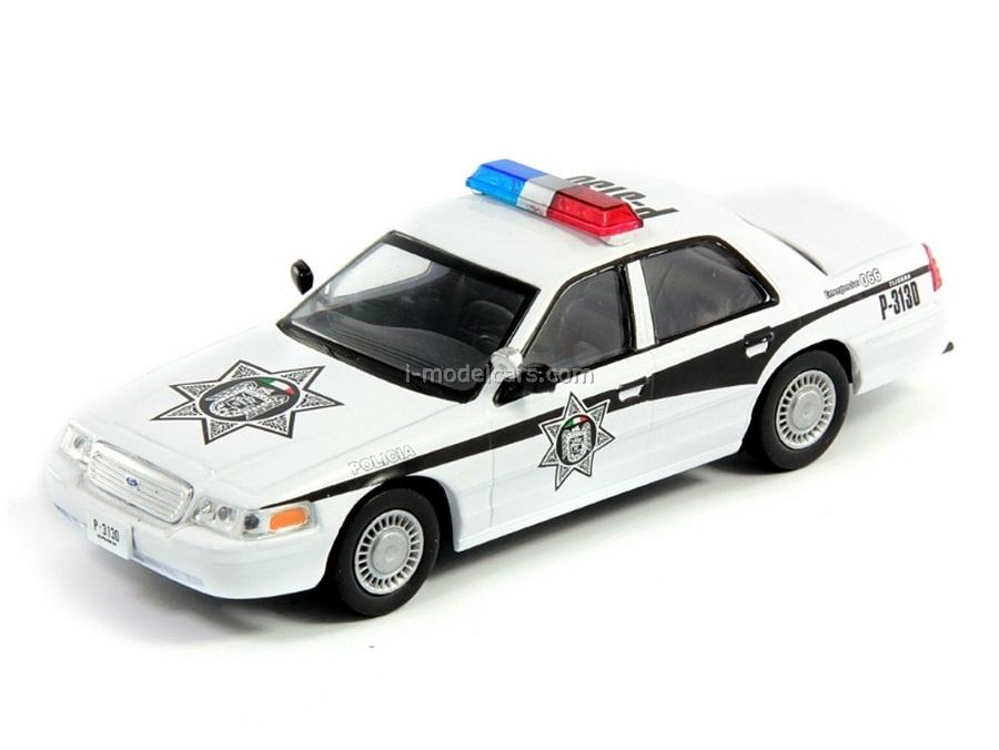 Ford Crown Victoria Police Mexico 1:43 DeAgostini World's Police Car #36