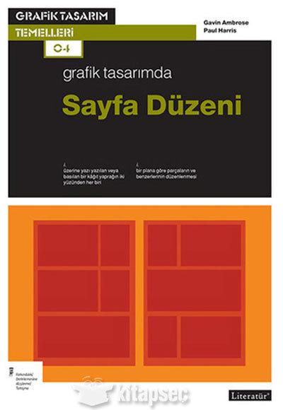 Kitab Grafik tasarımda sayfa düzeni | Gavin Ambrose