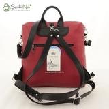 Рюкзак Саломея 556 кармен красный + черный