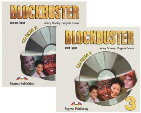 Blockbuster 3. CD-ROMs. (set of 2). Pre-Intermediate. (British-American english)(2008)