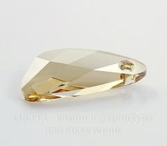 6690 Подвеска Сваровски Wing Crystal Golden Shadow (23 мм)