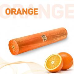 Одноразовые простыни Стандарт в рулоне оранжевые, СМС, 200х70см (100шт/уп)