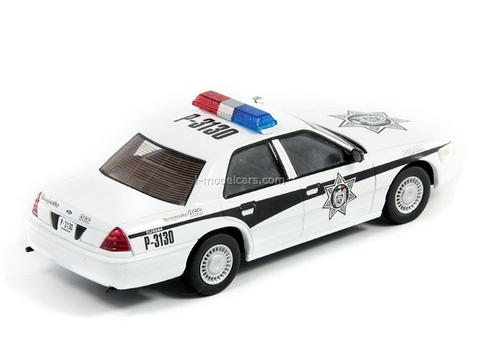 Ford Crown Victoria Police Mexico 1:43 DeAgostini World's Police Car #36