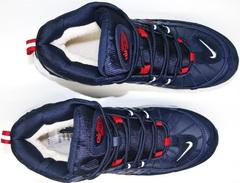 Зимние ботинки с мехом nike аир макс