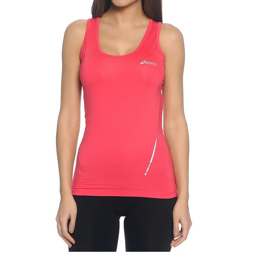 Женская беговая майка Asics Tank (110421 6016) розовая фото
