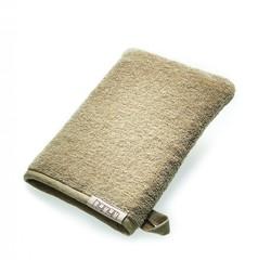 Рукавичка для бани 16x21 Hamam Galata Plain Soft бежевая