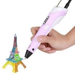 3Д-Ручка Розовая (3D Pen второго поколения)