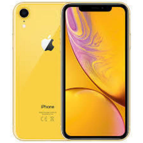 iPhone XR Dual SIM 64GB Yellow