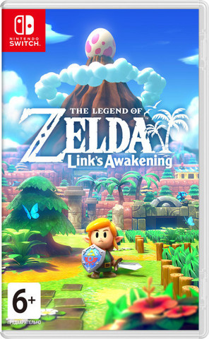 Nintendo The Legend of Zelda: Link's Awakening (русская версия)