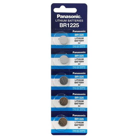 Батарейки литиевые Panasonic BR 1225 BL5