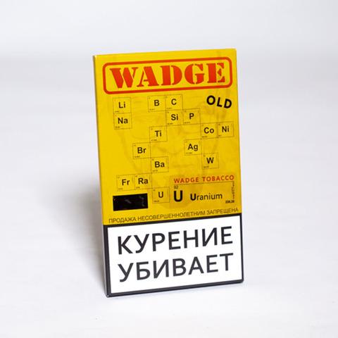 Табак WADGE OLD 100gr URANIUM