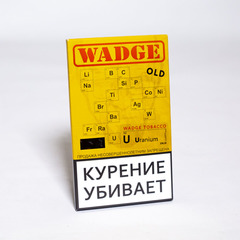 Табак WADGE OLD 100gr URANIUM