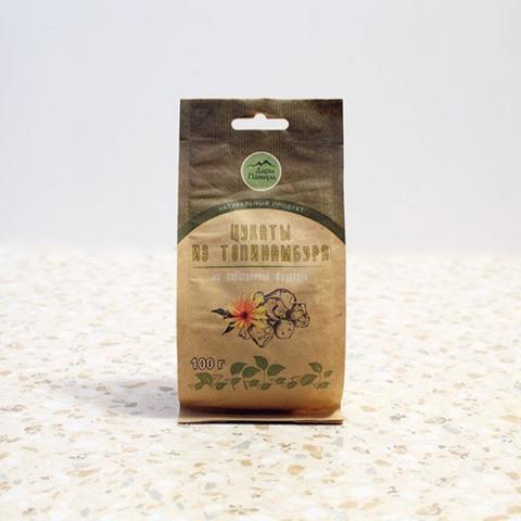 Натуральные (вяленые) цукаты из топинамбура, без сахара, 100г