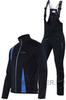 Утеплённый лыжный костюм Nordski Active Black-blue 2016 мужской