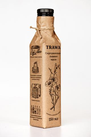 Trawa Масло сыродавленное льняное 250 мл