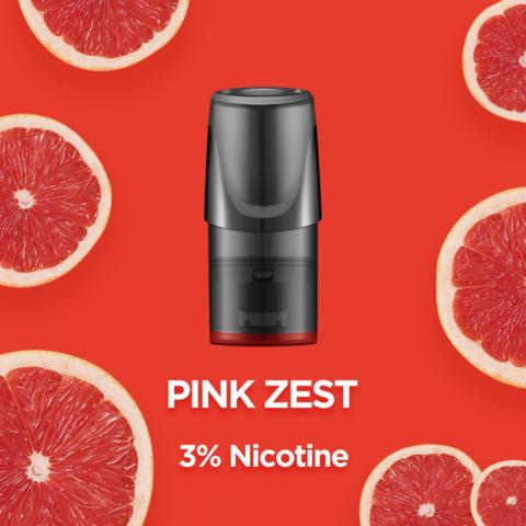 Сменный Картридж RELX 2ml Pink Zest 3% (упаковка из 3шт)