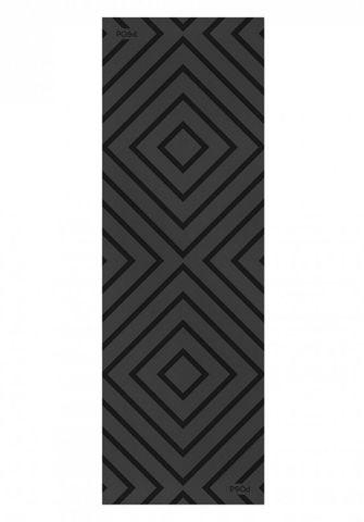 Каучуковый йога коврик Accord Black 183*61*0,35 см