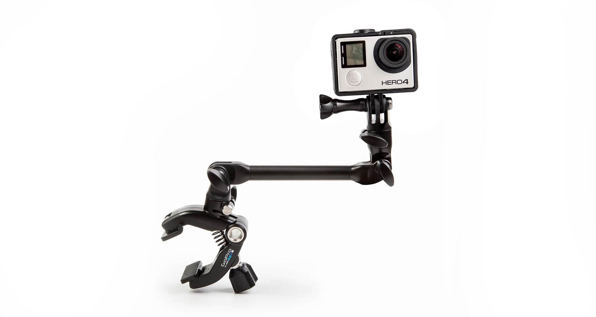 Крепление для музыкальных инструментов GoPro AMCLP-001 The Jam-Adjustable Music с камерой